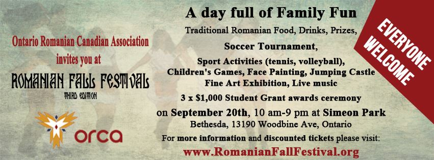 2014 Romanian Fall Festival
